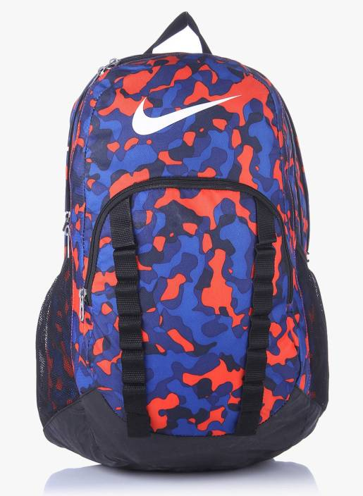 174df3c2b0831 Nike Brasilia-7 Graphic XL 34 L Backpack Multi Color - Price in ...