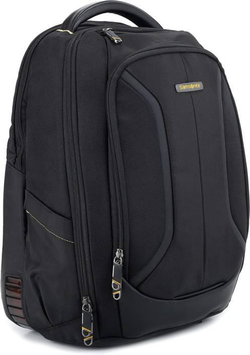 Samsonite Viz Air Plus Laptop Backpack Black - Price In India | Flipkart.com