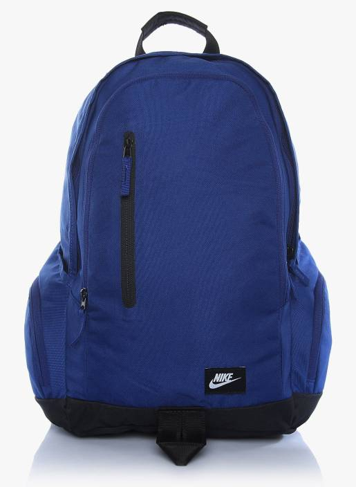 abda597cee0b Nike All Access Fullfare 25 L Backpack Blue - Price in India ...