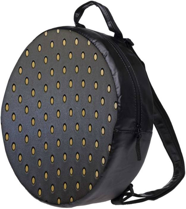 Snoogg Yellow Spots Grey Pattern Bookbag Rounded Backpack Boys Girls Junior  School Bag Pe Shoulder Bag Lunch Kids Luggage Backpack (Multicolor 7e209d266255e