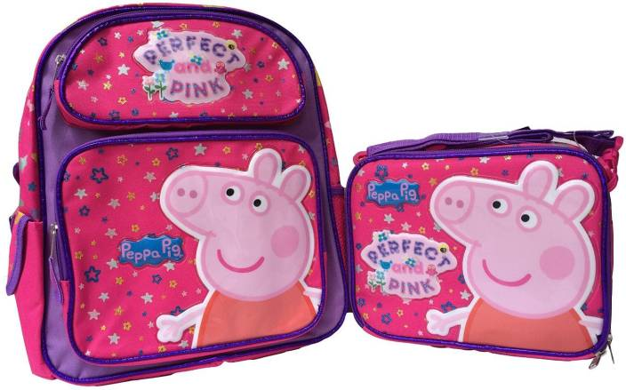 8eb9b2e42693 Flipkart.com | Peppa Pig erfect and Pink 14 Inches Backpack with ...