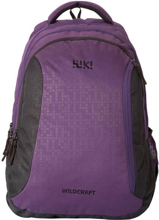 Wiki by Wildcraft Bricks 6 Waterproof School Bag (Purple 0eeace5df9468