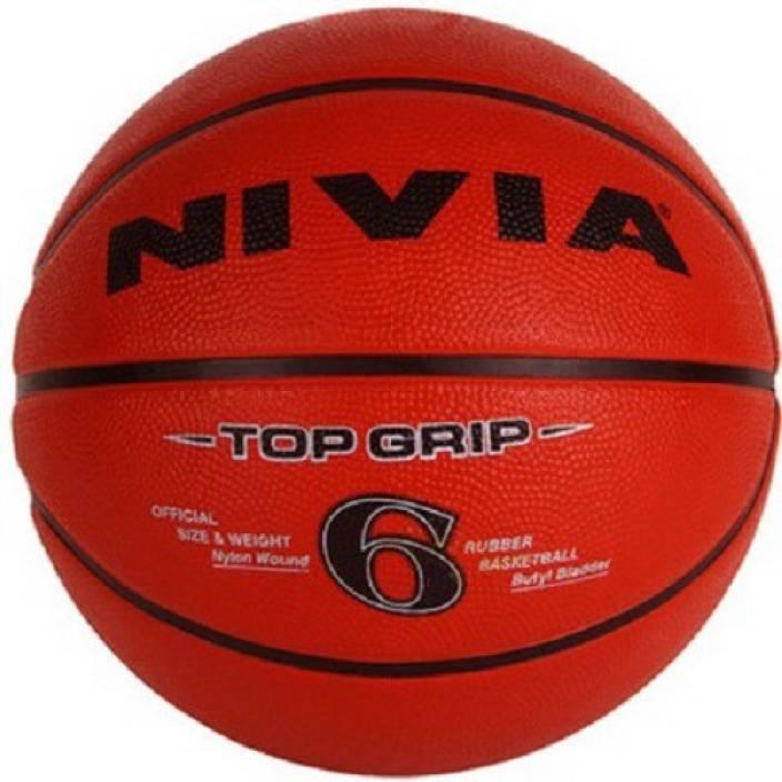 Nivia Top Grip Basketball - Size: 6 - Buy Nivia Top Grip Basketball - Size: 6 Online at Best Prices in India - Basketball | Flipkart.com
