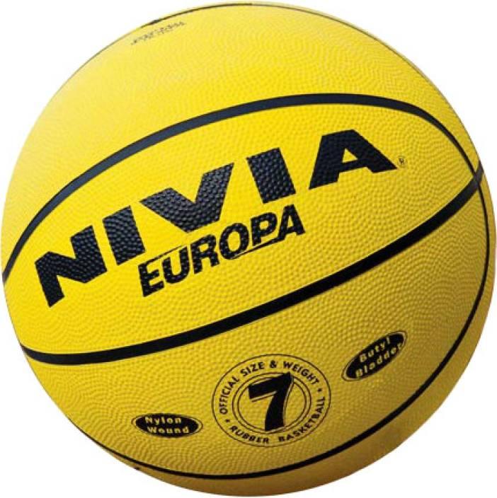 Nivia Europa Basketball -   Size: 7