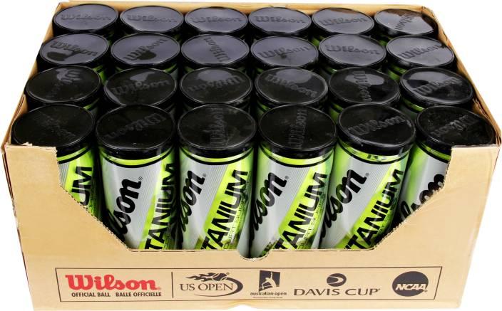 Wilson Titanium 3 Tennis Ball -   Size: Standard