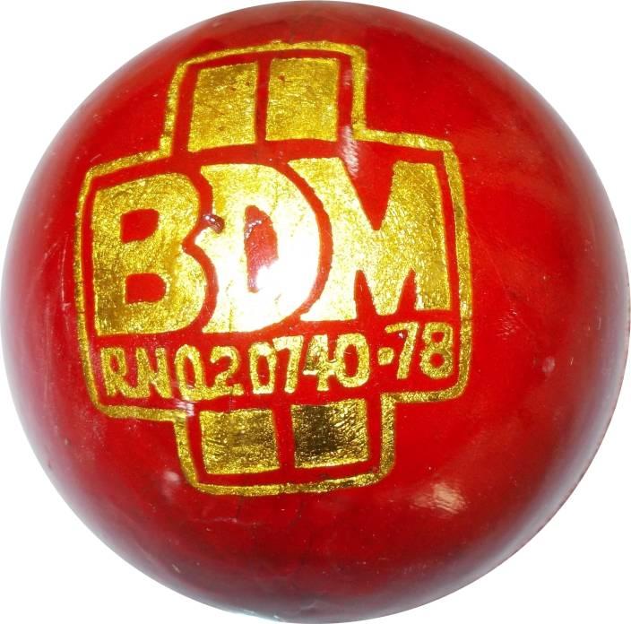 BDM Ambassador Cricket Ball -   Size: Standard