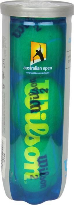 Wilson Australian Open Tennis Ball -   Size: Standard
