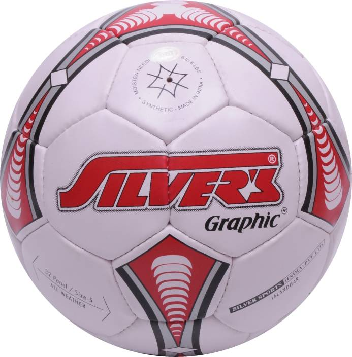 Silvers Graphic Football -   Size: 5