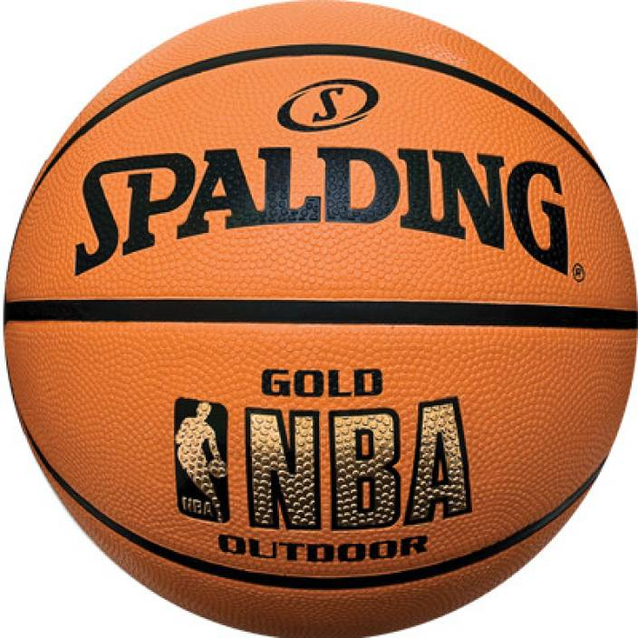 SPALDING Gold Series Basketball - Size: 7