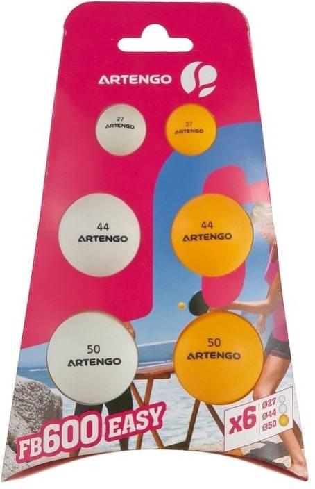Artengo  by Decathlon 710 X6 Ping Pong Ball -   Size: Standard
