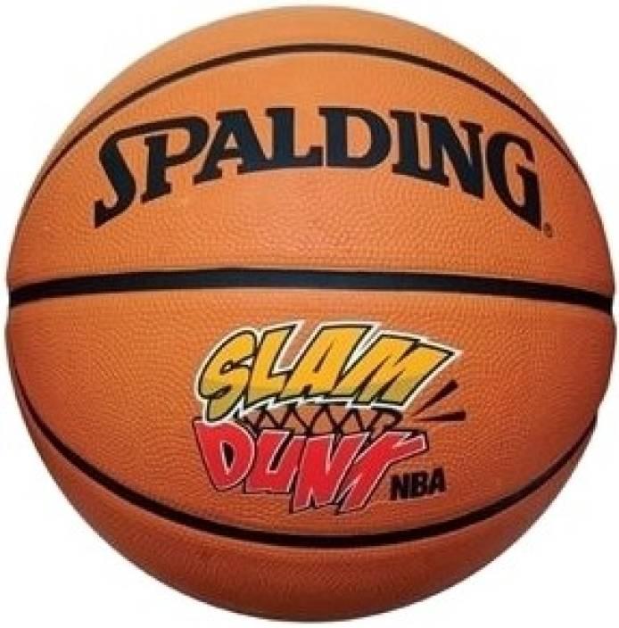 SPALDING 73-552Z NBA All Surface Slam Dunk Basketball -   Size: 7