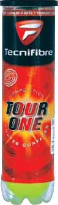 Tecnifibre Champion Tour one Tennis Ball -   Size: Standard