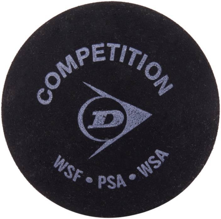 Dunlop Single Dot Squash Ball -   Size: Standard