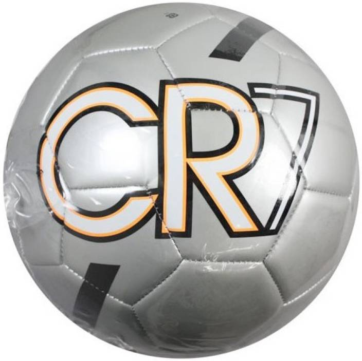 d09bfeac08be Nike Cristiano Ronaldo CR7 Prestige Football - Size: 5 (Pack of 1, Silver)