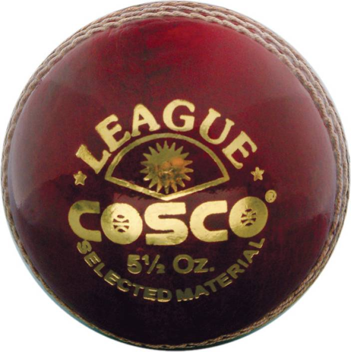Cosco League Cricket Ball -   Size: Standard