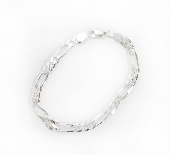 Silverwala Silver Silver Bracelet Price In India Buy Silverwala