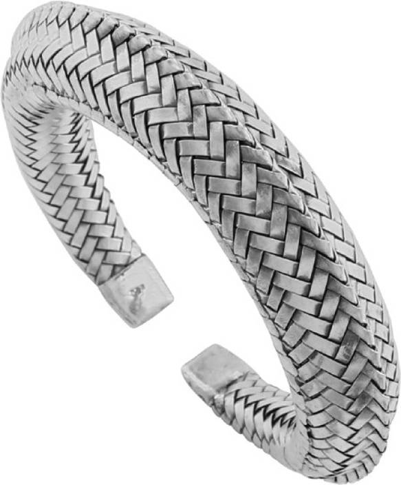 d25b1e2f61d 925 Silver Silver Sterling Silver Kada Price in India - Buy 925 Silver  Silver Sterling Silver Kada Online at Best Prices in India | Flipkart.com