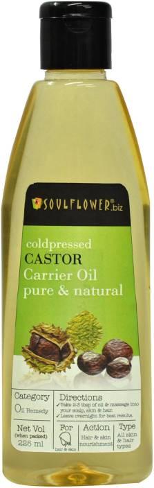 Soulflower Coldpressed Castor Carrier Hair Oil