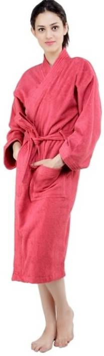 75dc078df Trident Red Small Bath Robe - Buy Trident Red Small Bath Robe Online ...