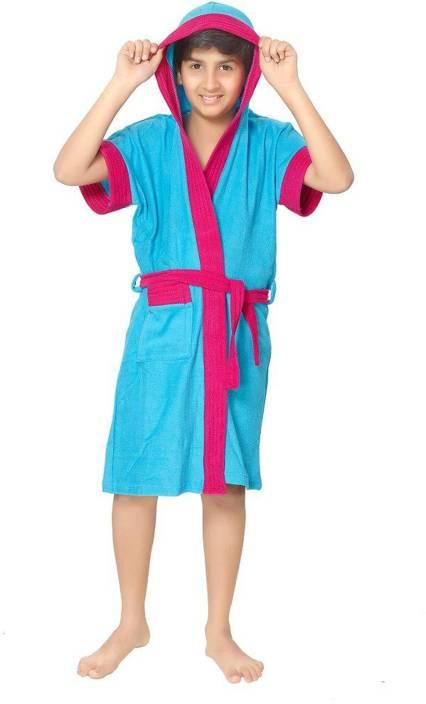 Sand Dune Turquoise Free Size Bath Robe - Buy Sand Dune Turquoise ... 0671cb23d