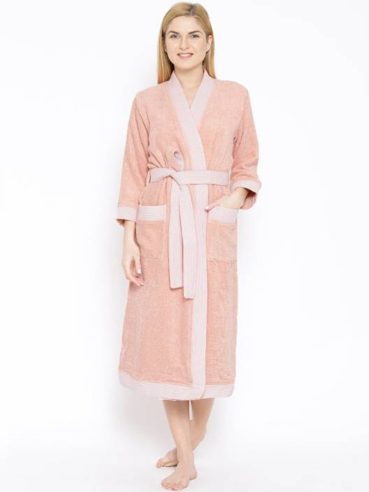 Spaces by Welspun Coral XL Bath Robe - Buy Spaces by Welspun Coral ... ec05ec276