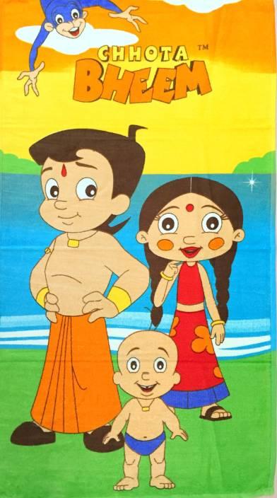 Chhota Bheem Cotton Bath Towel Buy Chhota Bheem Cotton