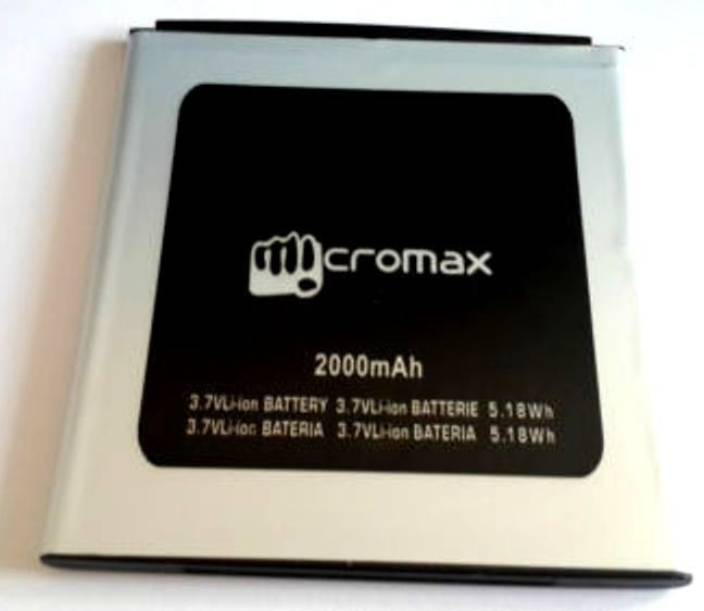 Micromax  Battery - A120 Battery for Canvas 2 Colors A120