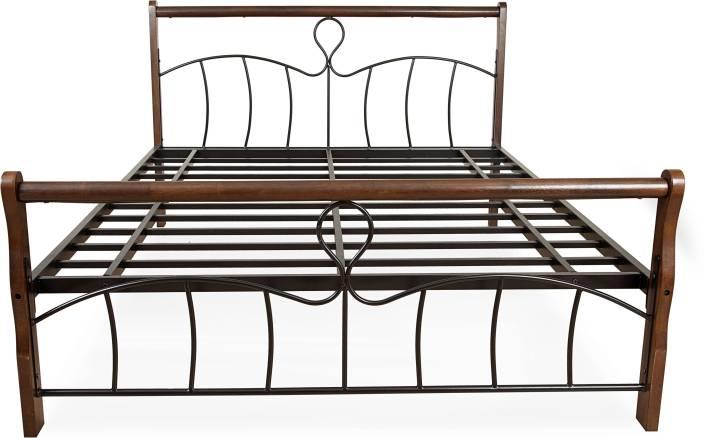 FurnitureKraft Moscow Metal Queen Bed