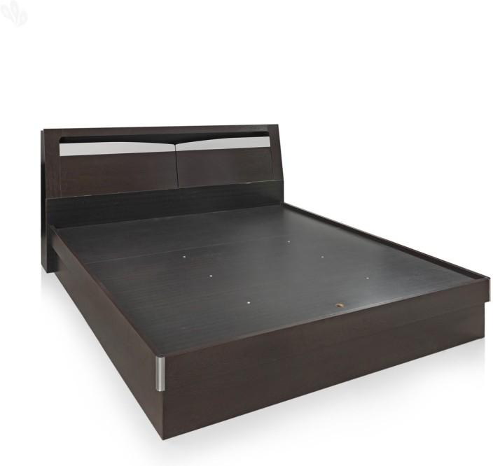 RoyalOak Barcelona Engineered Wood King Bed With Storage