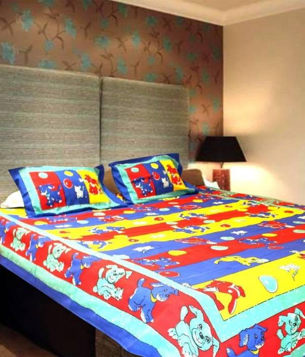 Christy's Collection 4 TC Cotton Double Animal Bedsheet