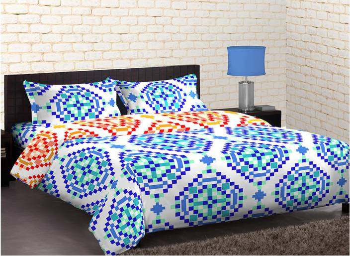 Home Expressions USA Polycotton Printed Single Bedsheet