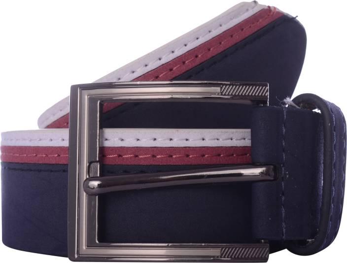 Exotique Men Multicolor Artificial Leather Belt