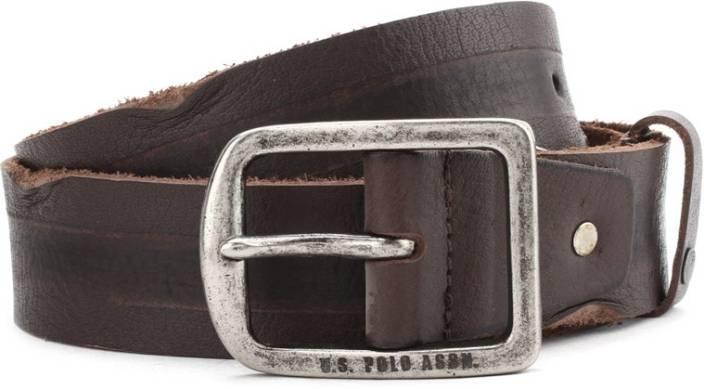 U.S. Polo Assn. Men Brown Belt