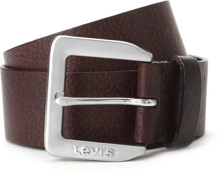 Levi's Men Brown Genuine Leather Belt