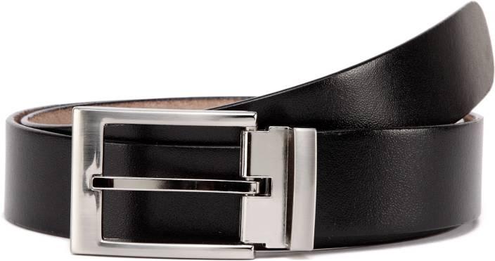 b4956090b943b U+N Men Formal Black Genuine Leather Belt Black - Price in India |  Flipkart.com