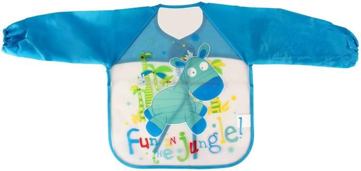 Pigloo Kids Long Sleeved Waterproof Smock Apron Bib for Painting ... 641846c05291