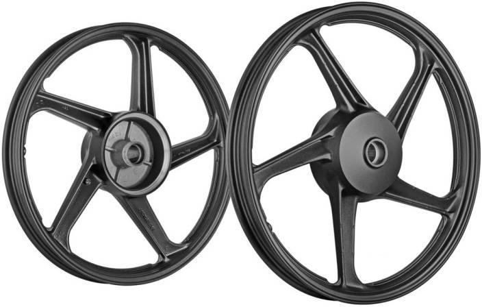 Splendor Alloy Wheel Modified Price, Fly Lion 274572 Front Rear Alloy Iron Hero Super Splendor Motorbike Tyre Rim Road, Splendor Alloy Wheel Modified Price