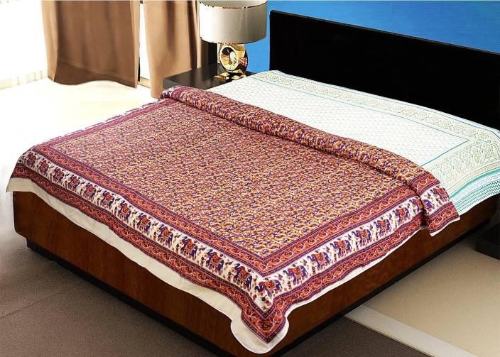 Rangistaan Printed Double Dohar Multicolor