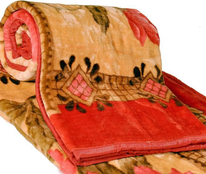 Little India Floral Single Blanket Multicolor Buy Little