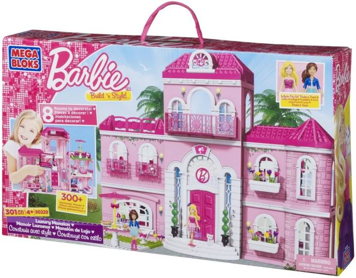 Mega Bloks Build n Style - Luxury Mansion