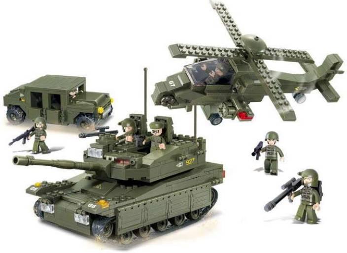Sluban Sluban Lego Elite Armored Division M38-B0308
