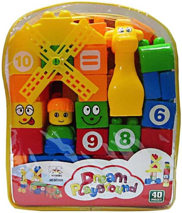 Turban Toys 35pcs. Building Blocks for kids