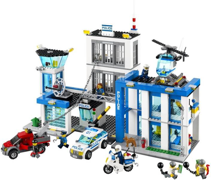 Lego City Police Station City Police Station Buy Lego City