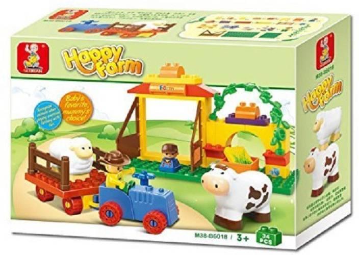 Sluban Happy Farm Educational Toy
