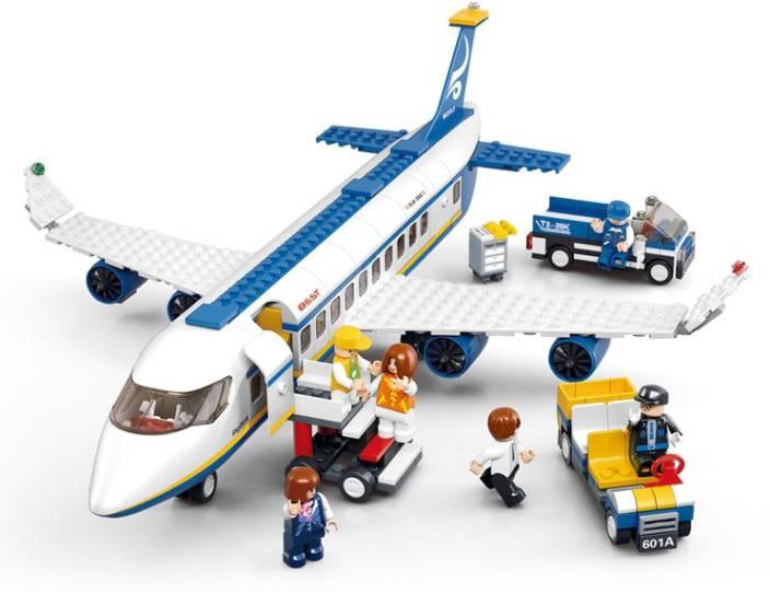 Sluban Lego Passenger Airplane