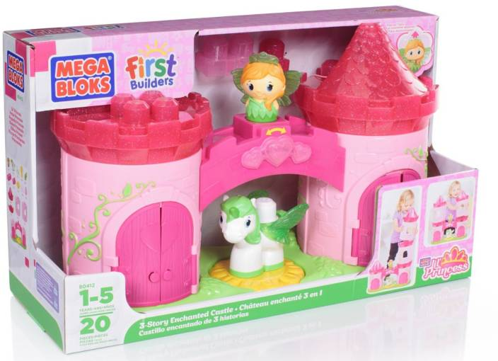 Mega Bloks 3-Story Enchanted Castle