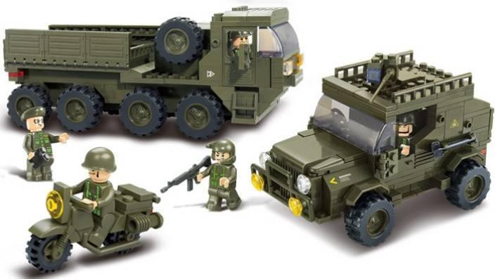 Sluban Army Sets