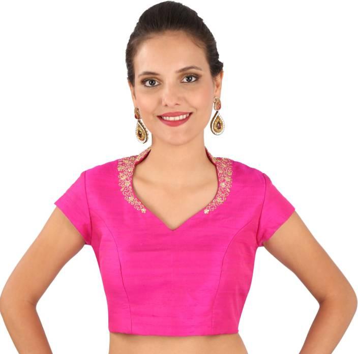 Yosshita & Neha V-Neck Women's Stitched Blouse