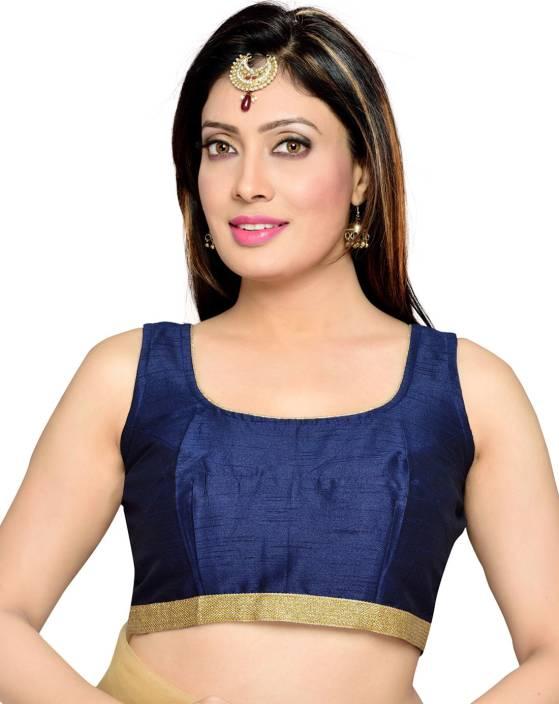 Studio Shringaar Round Neck Women's Stitched Blouse