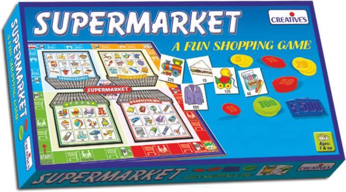 Creatives Supermarket Board Game - Supermarket   shop for